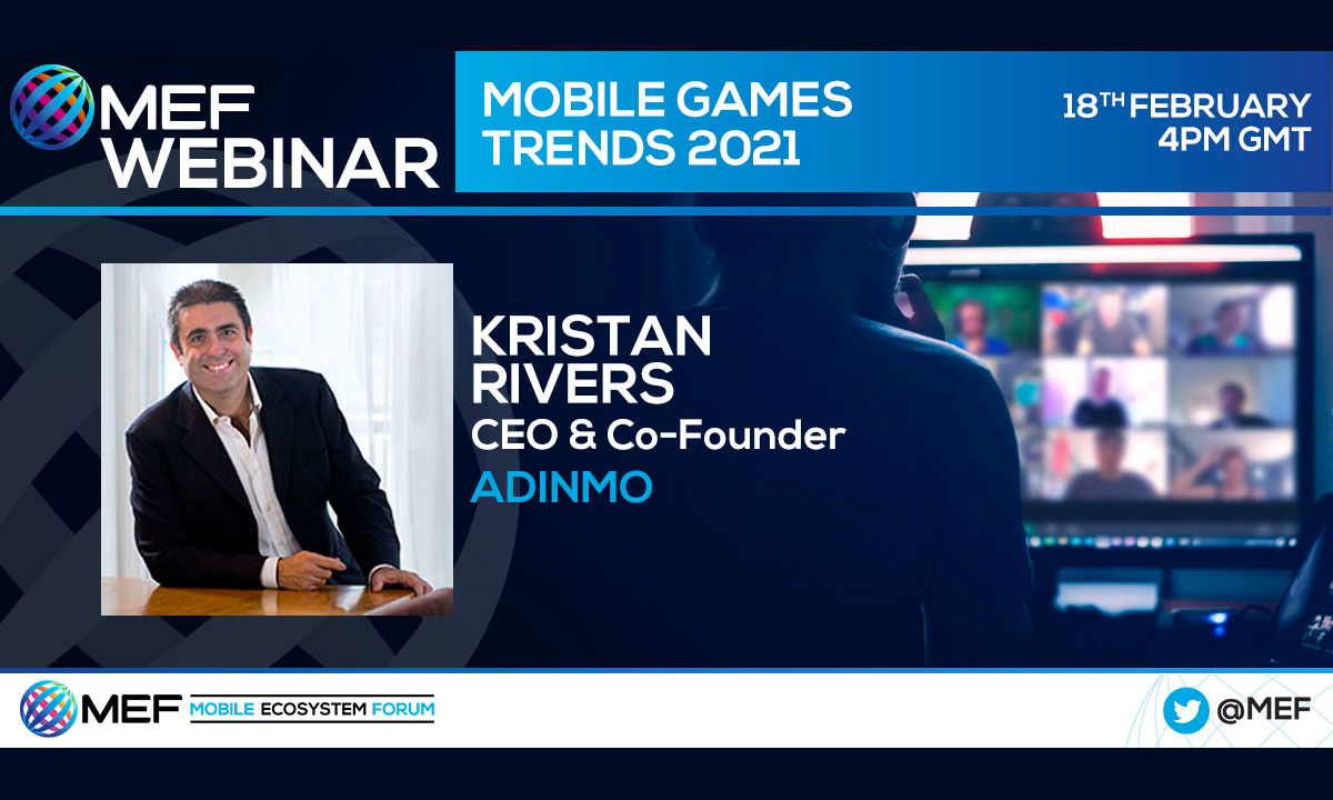 AdInMo CEO joins mobile industry discussion with Activision & Omdia