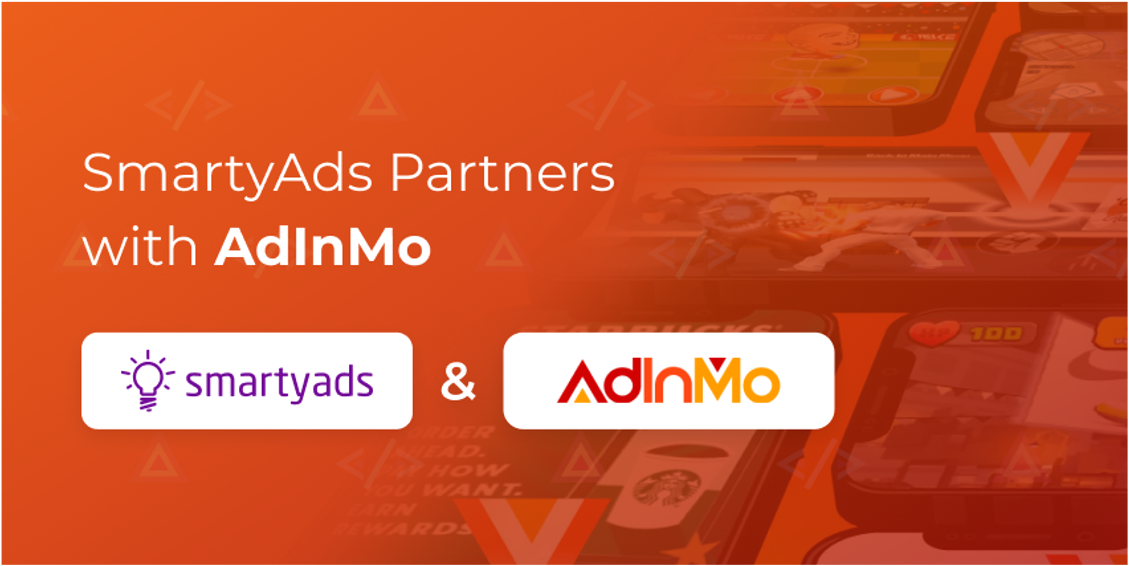AdInMo & SmartyAds partnership connects programmatic buyers to InGamePlay brand advertising opportunities